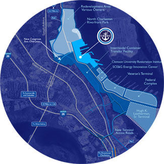 View Navy Yard Campus Map